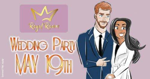 Royal Room Wedding Bingo Party